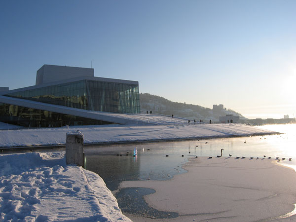 View of the Oslo Opera House