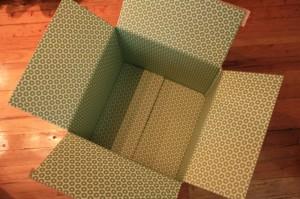 Empty square box