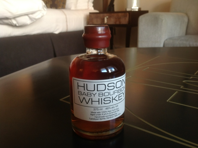 Bottle of Hudson Whisky