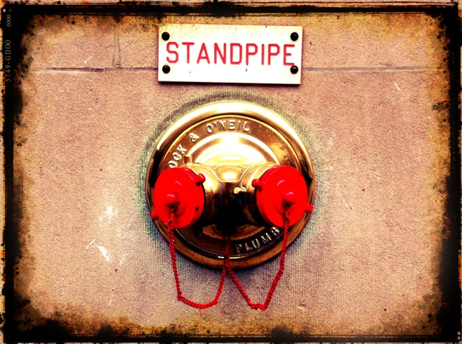 Brass standpipe