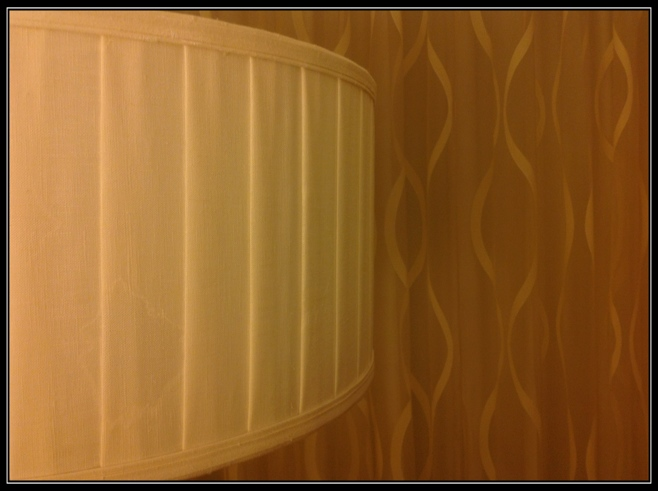 Texture lampshade and curtain