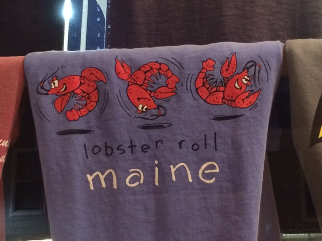 Lobster roll tshirt