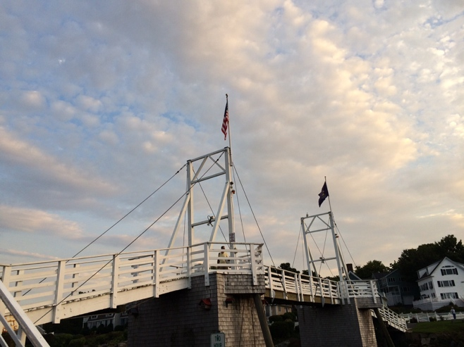 Perkins Cove drawbridge