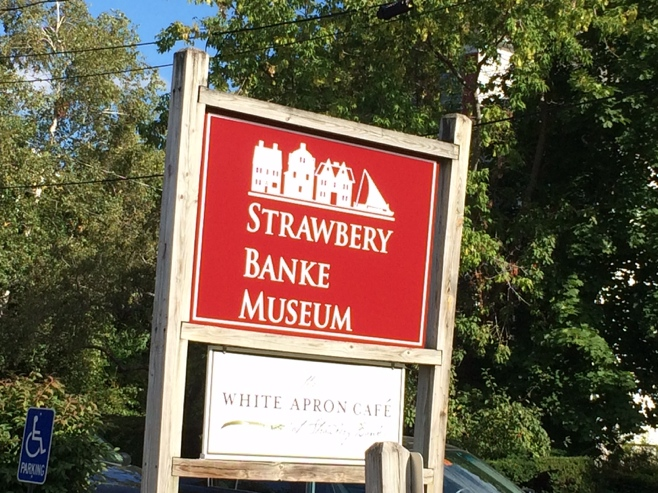 Sign for Strawberry Banke Museum