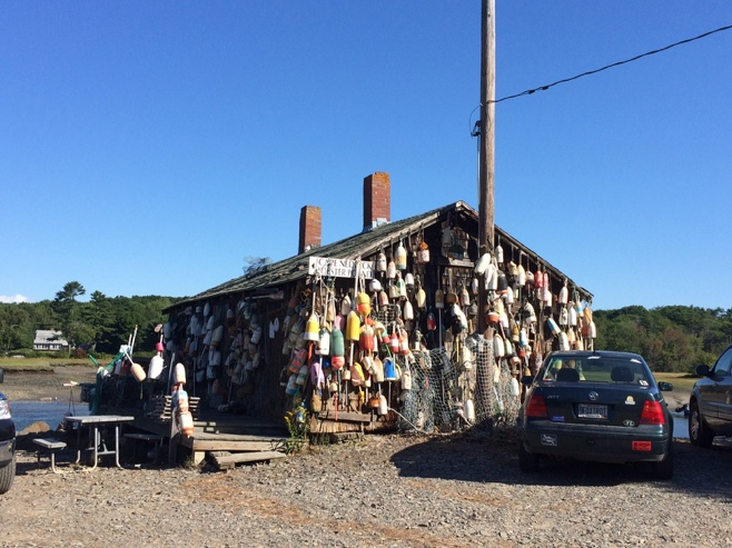 Fishing shack in Cape Neddick
