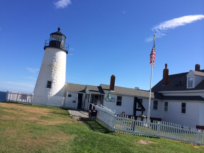 Pemaquid lighthouse grounds