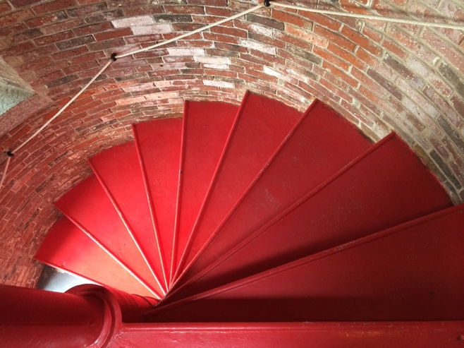 Red steps