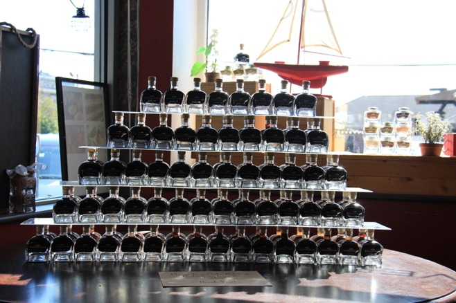 Stacked balsamic vinegar