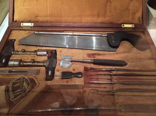 Civil war surgery kit