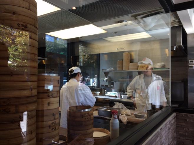 Cooks making dumplings