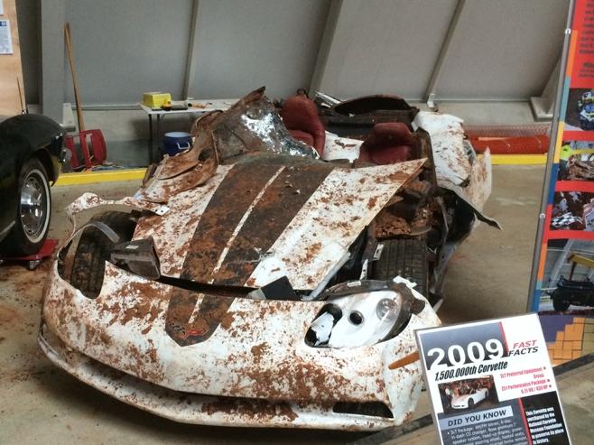 Corvette broken