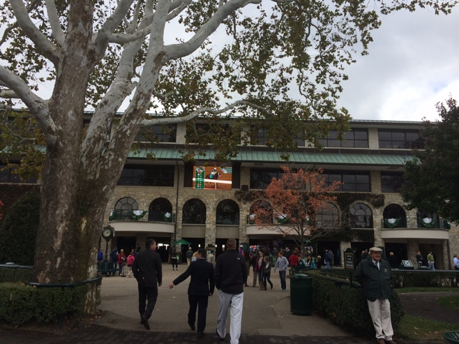 Entry to Keeneland racing track