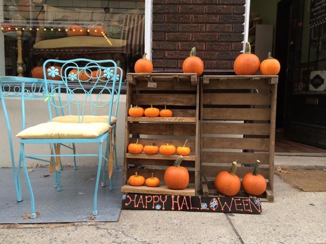 Happy Halloween pumpkins in Frederick
