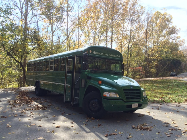 Mammoth caves bus