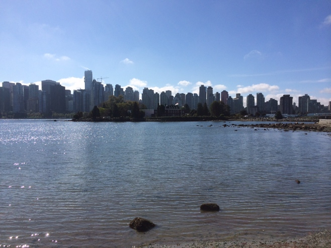 Waterfront views from Stanley park