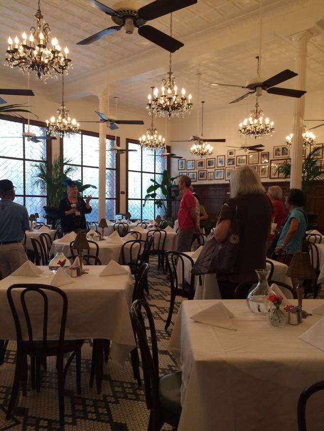 Fine dining room