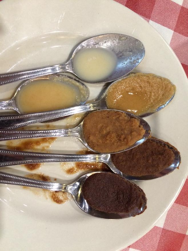 Spoons of roux
