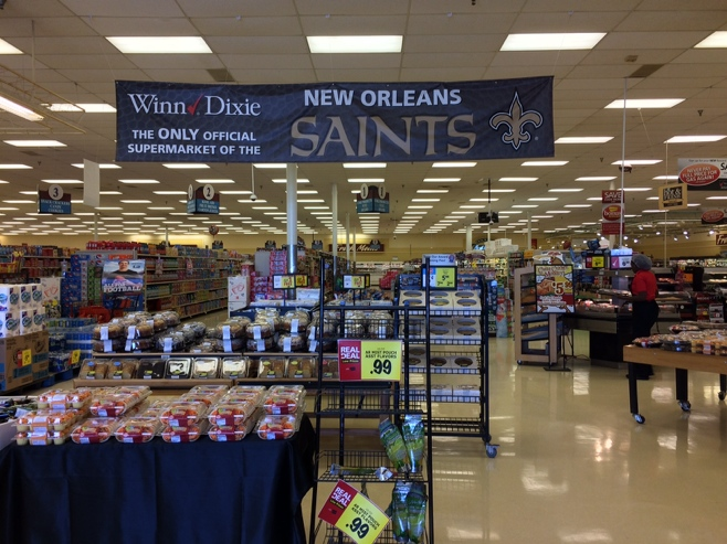 Winn Dixie supermarket