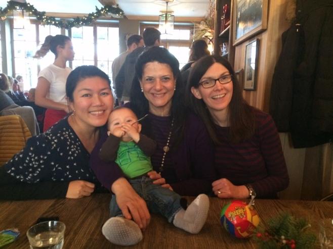 Baby and three women