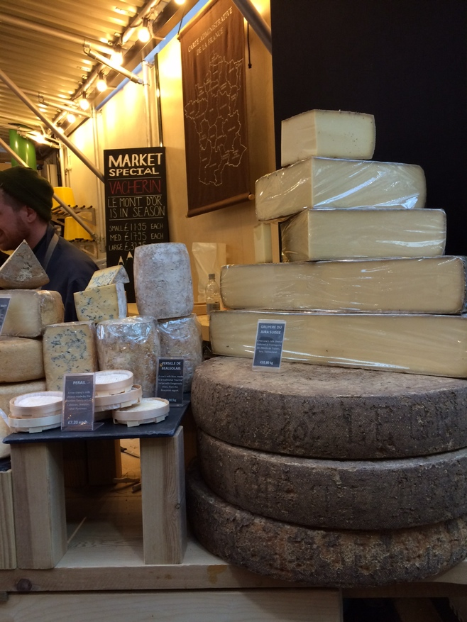Barrels of cheese