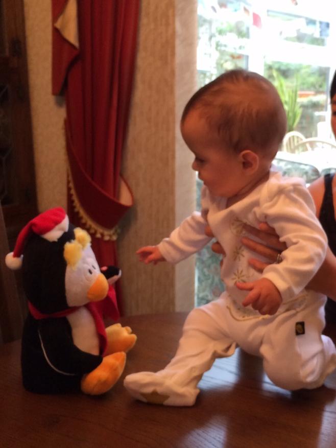 Dancing Elvis baby