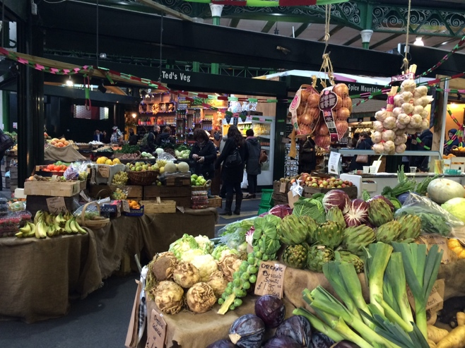 Fresh produce at borough market