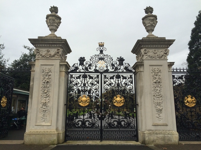 Grand gates of Kew Gardens