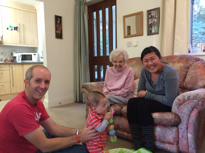 Visit with great great aunt pat