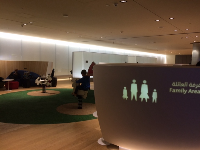 Family area in Doha airport