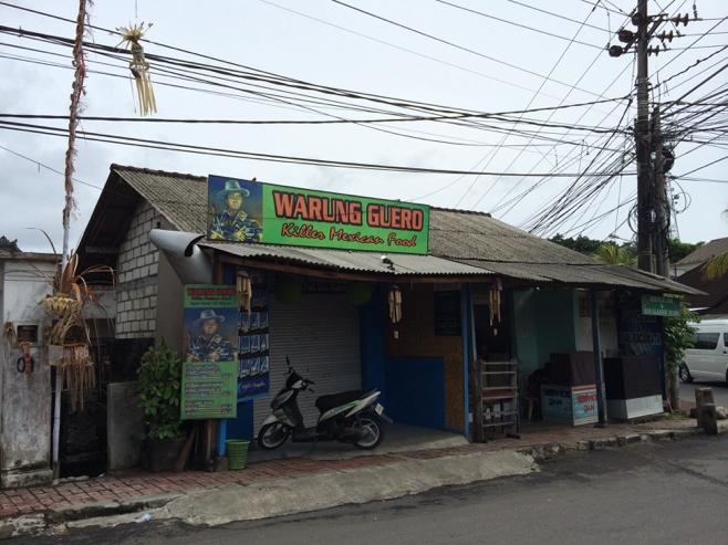 Killer Mexican food in Bali