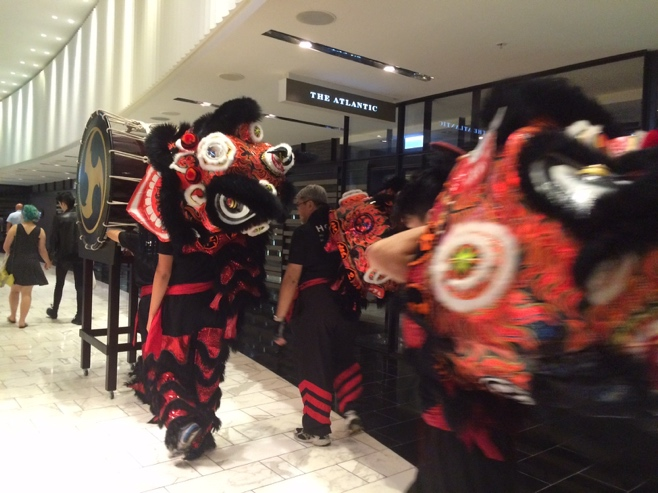 Dragon dance troupe