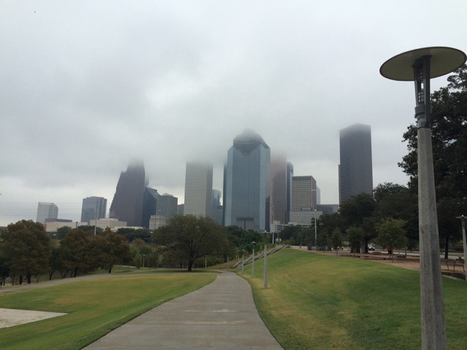Houston meets green belt