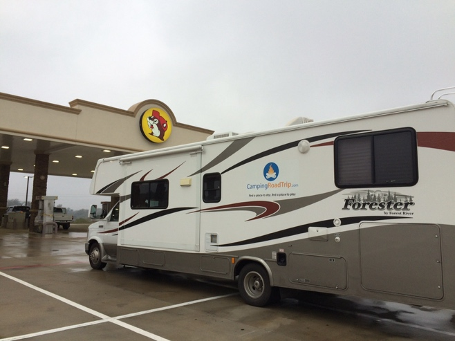 RV at Buc-ees