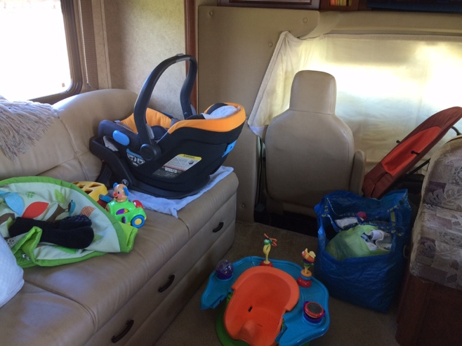 Baby stuff in RV