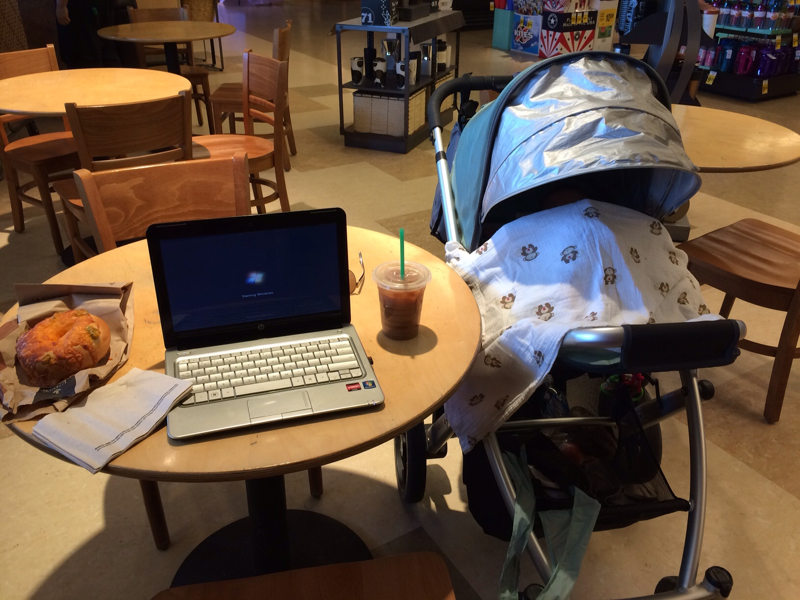 Working at Starbucks