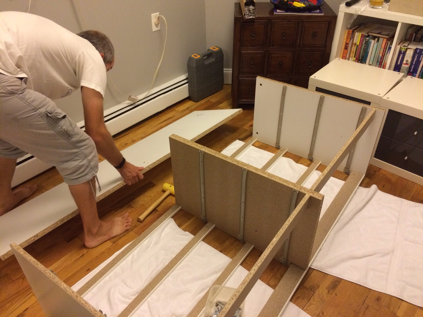 English hubby with IKEA furniture